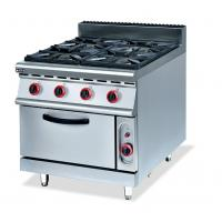 Buy cheap 4 / 6 Combined Gas Range Electric Oven For Stir Fried Dish Steak Bread from wholesalers
