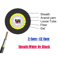 Buy cheap Corning G657A2 Fiber 48 Fiber Optic Cable GYFXTH Military Aerial Communications from wholesalers