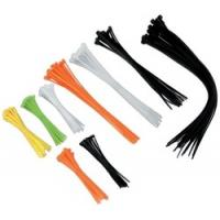Buy cheap Multi coloured Industrial Cable Ties, hook loop cable ties with Nylon Material from wholesalers