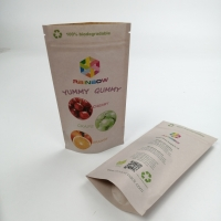 Buy cheap Biodegradable 150µ Thickness PLA Paper Food Packaging Bags from wholesalers