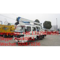 Quality foton aumark 14m overhead working platform truck for export to Nigeria, hot sale foton 14M-16M aerial working truck for sale