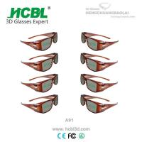 Buy cheap Famous TV Television Circular Polarized 3D Glasses 3D Computer Game Use from wholesalers