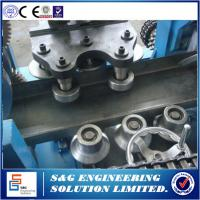 Buy cheap Adjustable CZ Purlin Roll Forming Machine 415V / 440V 20GP Container product