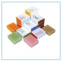 Buy cheap Cusomized Printing Paper Box Packaging , Hand Made Soap Packaging Box from wholesalers