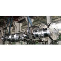Buy cheap OEM Crankshaft Forgings Forged Alloy Steel Industrial Shaft 42CrMo, 34CrNiMo6, 25Mn product