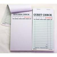Buy cheap Duplicate Carbonless Wait Book / Guest Check Pads/  Waiter Order Pads Pad35 from wholesalers