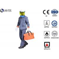 Buy cheap 8 Cal PPE Safety Wear Uniforms ASTM F2621 Anti Fire Category 1 Oil Resistant from wholesalers