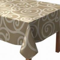 Buy cheap Table Cloth/Table Linen, Made of PVC from wholesalers