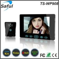 Buy cheap Wholesale 2014 first 9 inch apartment wireless video door phone intercom system in the world from wholesalers