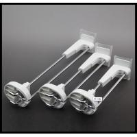 Buy cheap COMER Metal chrome slatwall display hooks in Supermarket from wholesalers