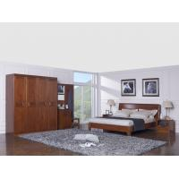 Buy cheap New design Nanmu Solid wood Bedroom furniture set By ISO9001 and FSC china good factory to sell high end quality from wholesalers