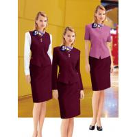 China European Style elegant corporate uniforms ladies staff uniform for women on sale