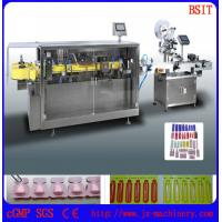 Buy cheap pasty fluid filling and sealing machine  labeling machine was used in cosmetics from wholesalers