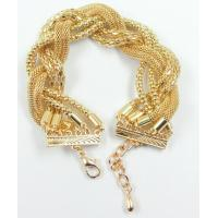 Buy cheap alloy chain fashion bracelet from wholesalers