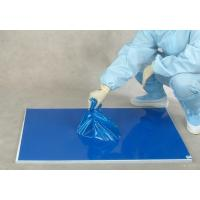 Buy cheap 30 layers blue floor protection PE laboratory sticky mat from wholesalers
