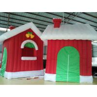 Buy cheap Oxford Cloth Inflatable Christmas Products Continuously House custom printed from wholesalers