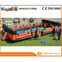 Buy cheap Customized Inflatable Sports Games Football Arena Court Indoor Soccer Field from wholesalers