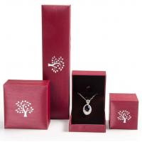 Buy cheap Creative Design Jewelry Plastic Box Mechanical Production For Pendant / Necklace from wholesalers