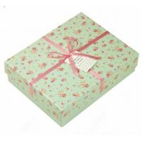 Cardboard colored printed jewelry gift boxes with lids 60 for Small cardboard jewelry boxes with lids
