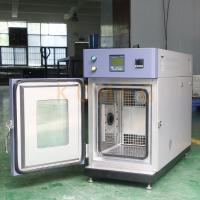 Buy cheap Compact Stainless Steel Mini Bench top Environmental Test Chamber Customized from wholesalers
