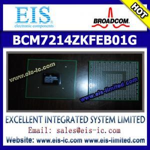 Buy cheap BCM7214ZKFEB01G - BROADCOM - SINGLE-CHIP SATELLITE SET-TOP BOX DECODER product