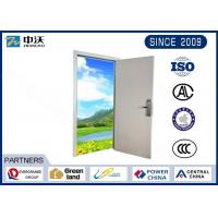 Customized Size FD30 Fire Door With Single Wooden Leaf High Density