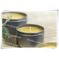 Buy cheap cotton wick tin candle from wholesalers