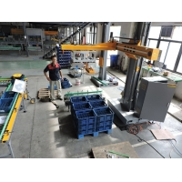 Buy cheap PLC Compact 1200x1200mm Intelligrated Auto Robotic Palletizing System from wholesalers