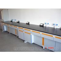Buy cheap Front Frame Laboratory Work Benches Floor Mounted Or Suspended from wholesalers