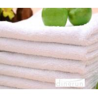 Buy cheap Compact Pure White Hand Towels For Hotel , Soft Touch Hand Wash Cloth Fast Drying from wholesalers