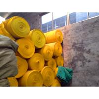 Buy cheap Dust Protection Yellow Construction Safety Net HDPE , Debris Safety Netting from wholesalers