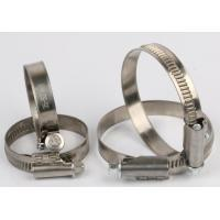 Buy cheap 9mm Non Perforated Hose Clamps Pipe Clamp Without Welded Housing Design from wholesalers