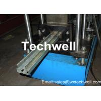 Buy cheap Chain Drive Storge Rack Roll Forming Machine 1.8-2.3mm Steel Frame Roll Forming Machine from wholesalers