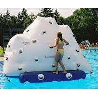 Buy cheap 3m Height Inflatable Water Sports , Inflatable Climbing Wall With Water Slide from wholesalers