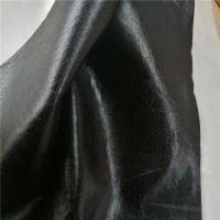 Buy cheap Waterproof Anti - Mildew Sofa / Furniture Bronzing Suede Fabric With Brush Backing product