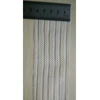 Buy cheap Spandex / Nylon  White Woven Elastic Webbing For Decoration from wholesalers