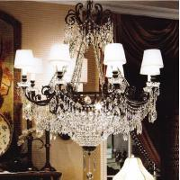 Buy cheap Black iron candle chandelier (WH-WI-03) from wholesalers