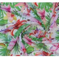 Buy cheap Polyester 75D chiffon printed fabric for dress, garment, width 57/58 from wholesalers