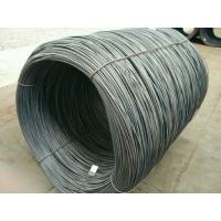 Buy cheap hot rolled low carbon steel wire rod SAE1008 5.5MM  6.5MM and above from wholesalers