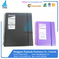 Buy cheap Hard PP Cover A5 A6 spiral notebook from wholesalers