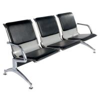Buy cheap Metal Steel 3 Seater Hospital Waiting Area Chairs Public / Airport Waiting Chairs product