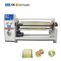 Buy cheap Automatic single shaft adhesive tapes jumbo roll rewinding machine from wholesalers