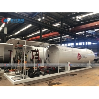 Buy cheap 5t 10t 10000l 20000L 10mt Lpg Skid Tank Cylinder Refilling from wholesalers