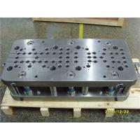 Buy cheap One Row Progressive Punch Press Die , Sheet Metal Blanking Die For Brass Plate Forming from wholesalers