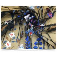Buy cheap 100% Polyester Heavy Floral Embroidered Mesh Lace Fabric For DIY Costume Dress product