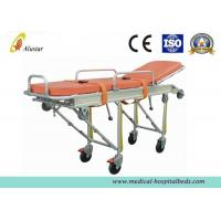 Buy cheap Full Automatic Loading Stretcher Folded Emergency Patient Ambulance Stretcher Trolley (ALS-S008) from wholesalers