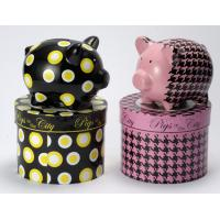 Buy cheap Unopenable pottery animal coin poly resin or Ceramic Money Box bank  from wholesalers