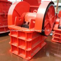 China High Efficiency Stone Jaw Crusher Machine Specifications on sale