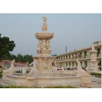 Buy cheap Hot sale large marble garden water fountain from wholesalers