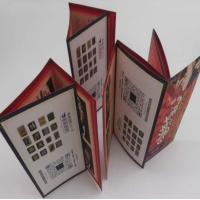 Buy cheap Small Folded Leaflet Printing For Electronics, Promotional C2s Paper 7 Folds User Manual from wholesalers